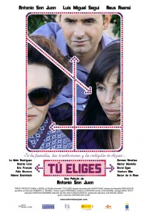 Tú eliges - Cartel película - Antonia San Juan - Trece Producciones