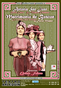 Matrimonio de Boston - Cartel - Teatro