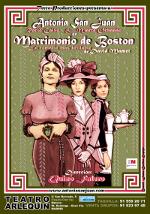 Matrimonio de Boston - Cartel - Teatro